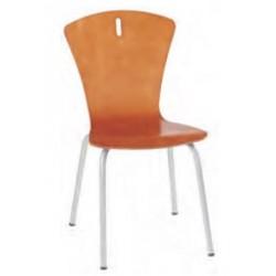 Visuel de la chaise polyvalente coque en bois - DMC Direct