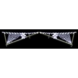 Visuel de la voûte de rue modèle Comète lumineuse structure bambou - DMC Direct
