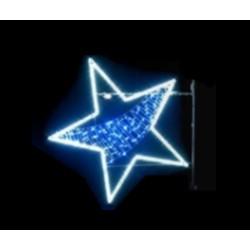 Décor pour poteau Illumination Belle Étoile