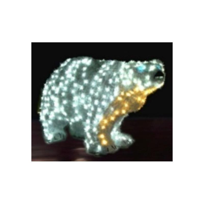 Ours lumineux ext rieur ours de no l lumineux ours polaire lumineux ext rieur for Spot lumineux pour noel