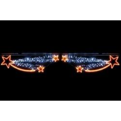 Visuel de la voûte de rue : Féerie d'étoiles filantes à LED - DMC Direct