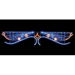 """Voûte de rue """"troisième étoile à droite et tout droit jusqu'au matin"""""""
