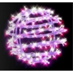 Sphère lumineuse décor 3D à suspendre