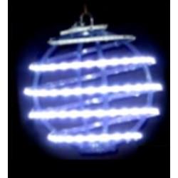 Sphère psychédélique lumineuse à suspendre