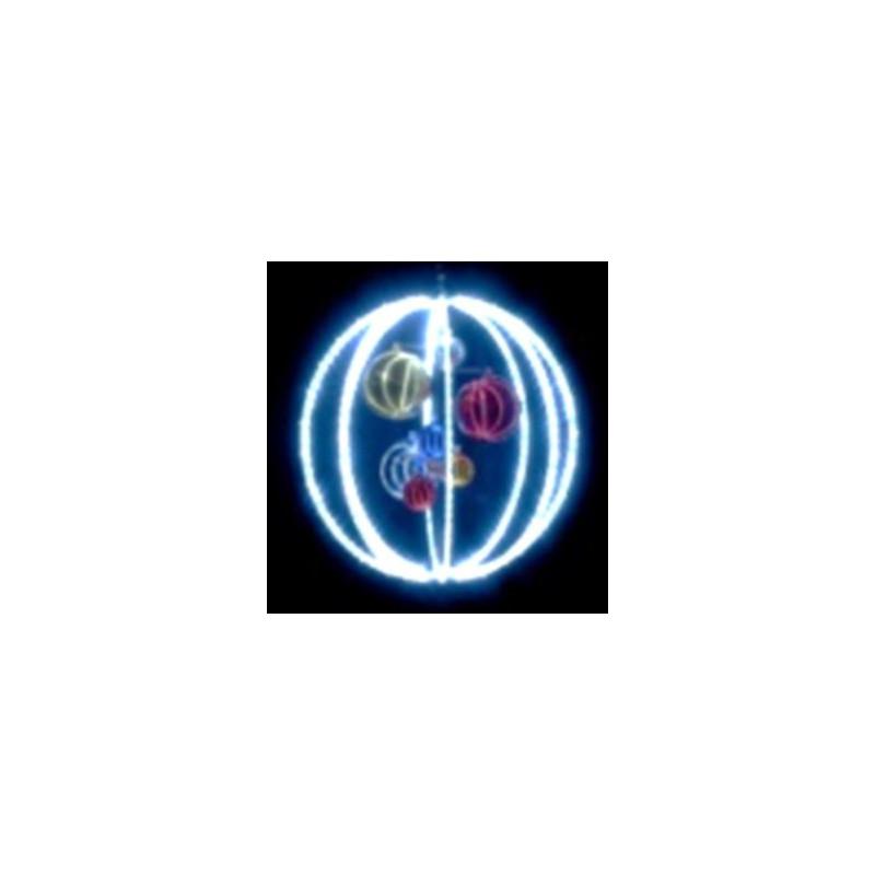 Visuel de la boule lumineuse à suspendre - DMC Direct