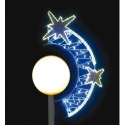 Arc d'étoiles de Noël pour lanterne Boule