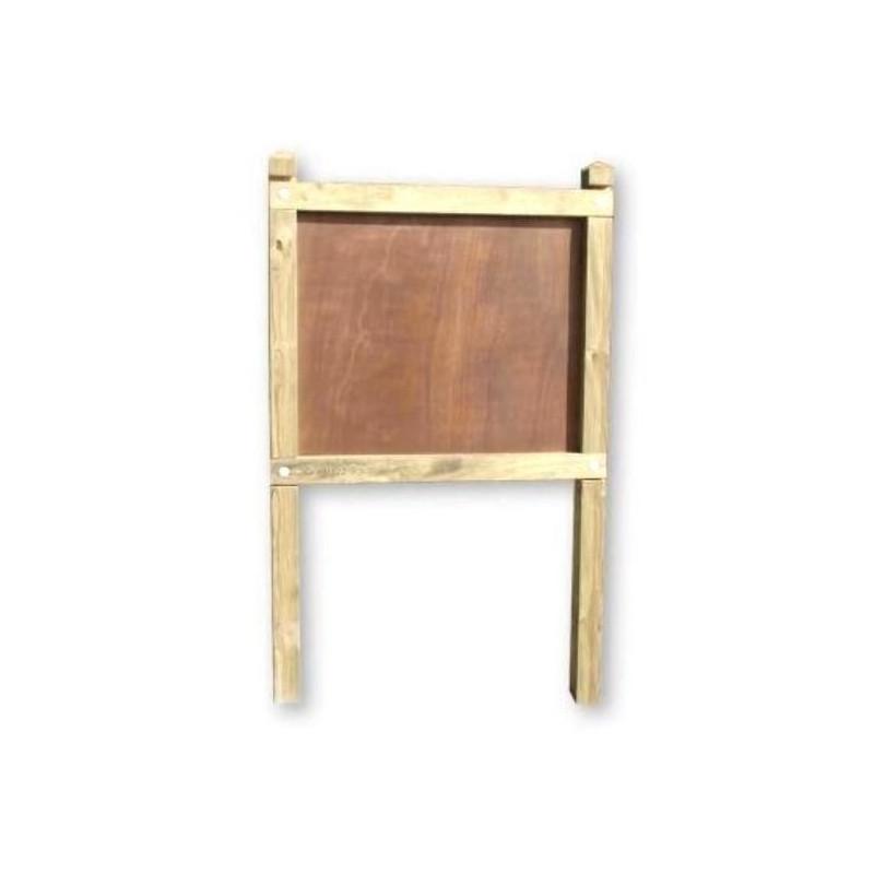 Planimètre classique poteaux carrés panneau contre-plaqué - DMC Direct