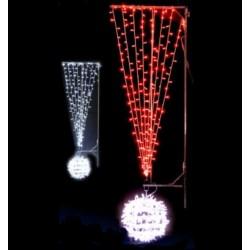 Exclamation Illumination pour candélabre