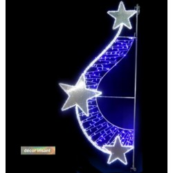 Twist d'étoiles irisé
