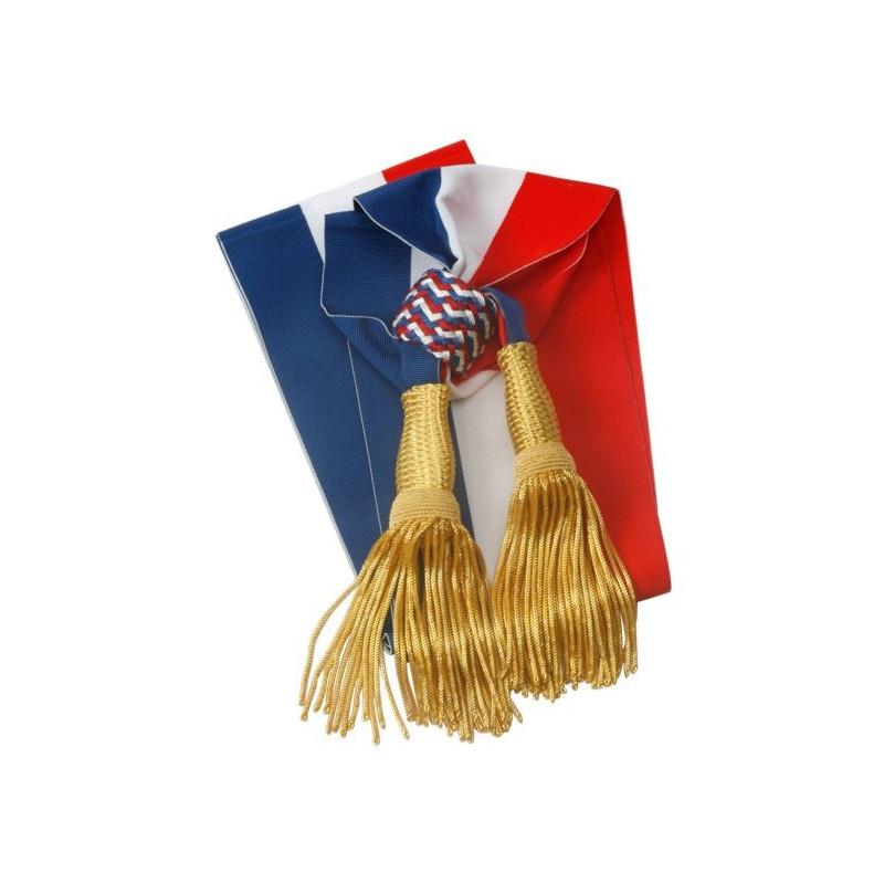 Visuel de l écharpe tricolore pour mairie c13a5b9b01a