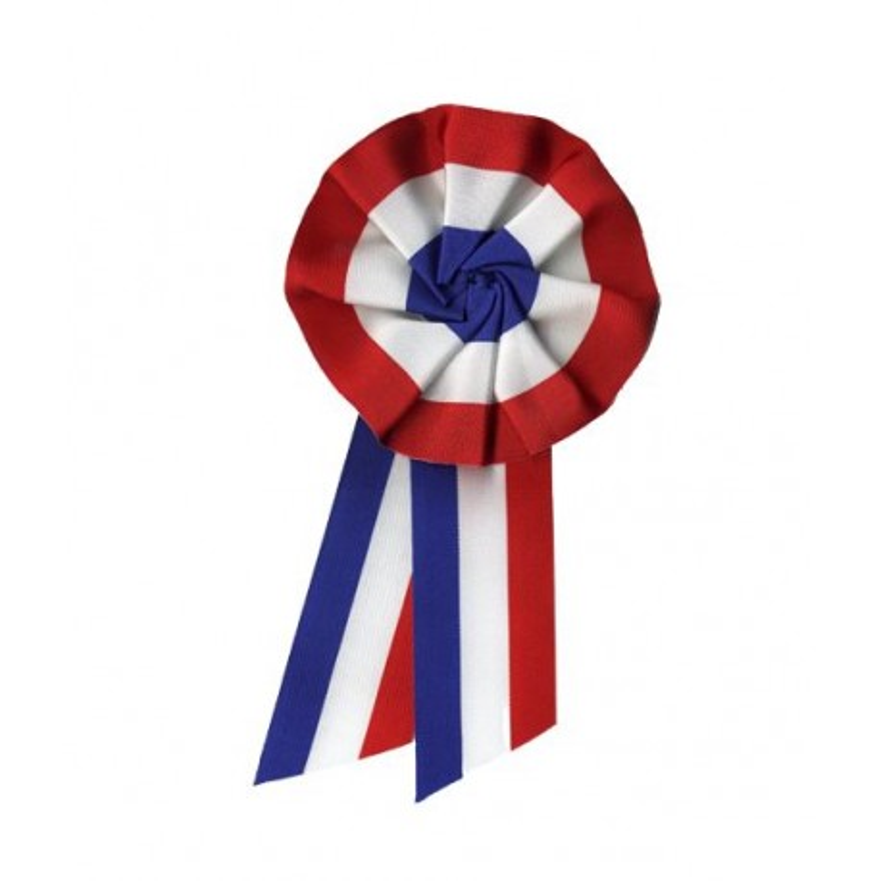 Visuel de la cocarde tricolore pour mairie