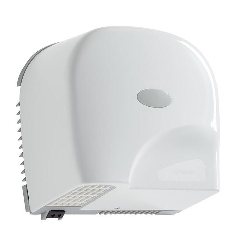 Sèche-mains automatique horizontal ABS blanc - Oléane - DMC Direct