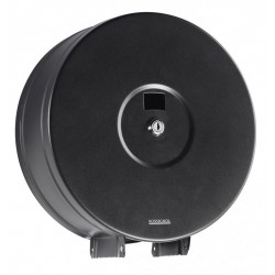Distributeur de Papier WC pour rouleau de 400 m - gris manganèse - DMC Direct