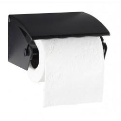 Distributeur mural de Papier WC pour rouleau ménager - gris manganèse - DMC Direct
