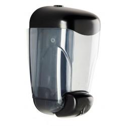 Visuel du bloc distributeur mural de savon liquide - 0.8 L - en ABS noir - DMC Direct