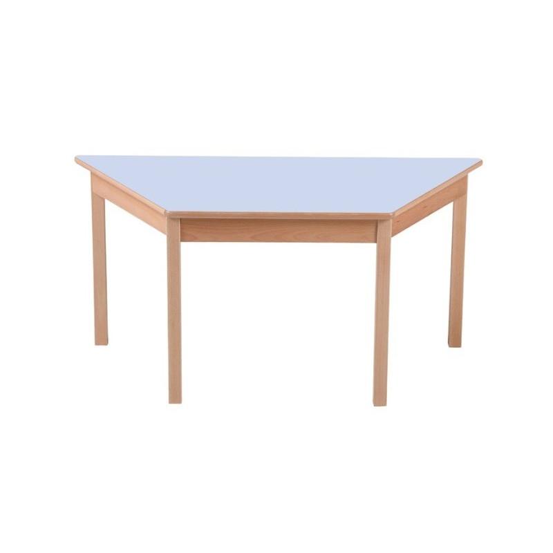 Visuel de la table scolaire trapézoïdale