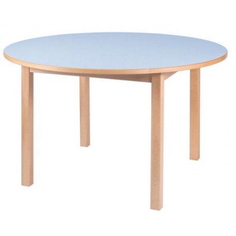 Visuel de la table scolaire ronde