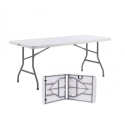 Table pliante d'appoint en valise