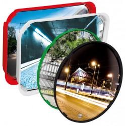 Visuel du miroir de sécurité routière multi-usages