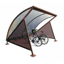 Visuel de l'abri vélo en demi-lune - DMC Direct
