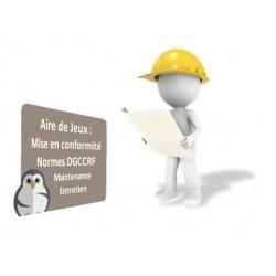 Service + Maintenance et Contrôle aire de jeux selon normes en vigueurs - DMC Direct