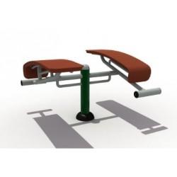 Visuel de l'élément pour aire de jeux et parcours santé du banc abdominaux