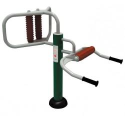 Visuel de l'élément pour aire de jeux et parcours santé pour l'étirement des épaules