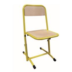 Chaise Véro réglable pour école