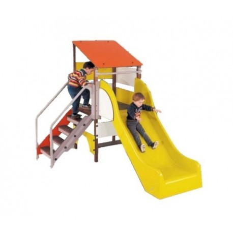 Visuel du jeu extérieur pour aire de jeux Cabane aux bambins