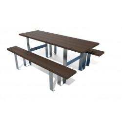 Table pique-nique Élégante éco en recyclé