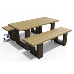 Table pique-nique recyclé enfants Olivier