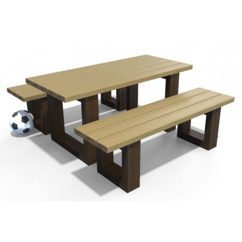Table pique-nique recyclé enfants