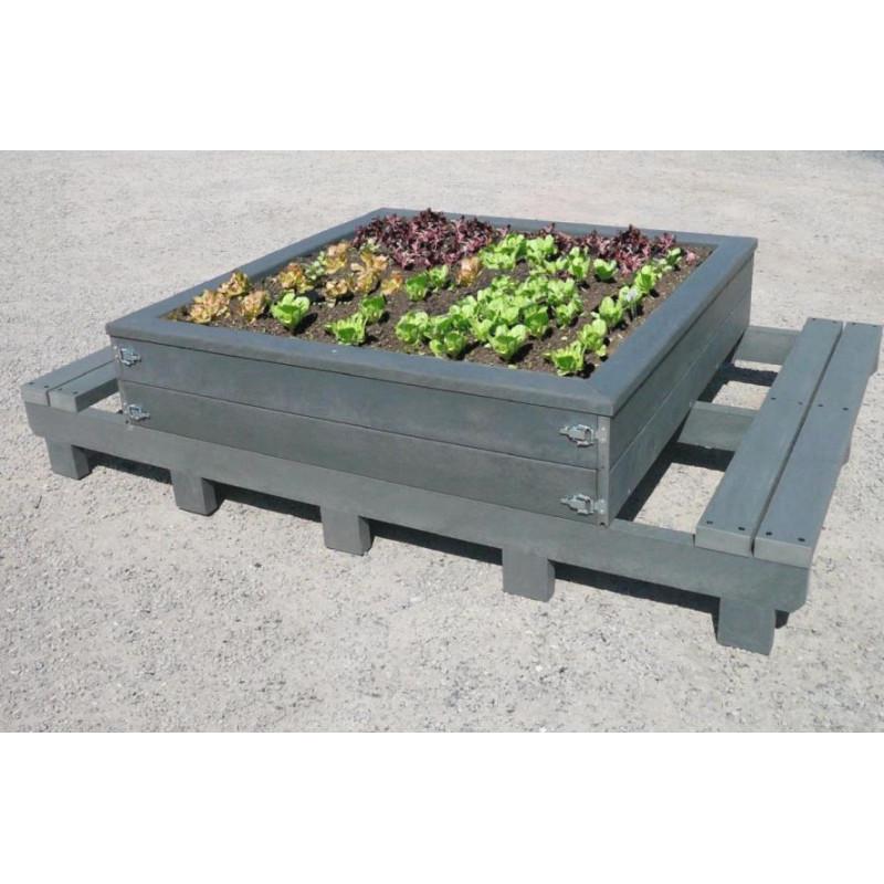Table de plantation Némo recyclé