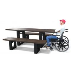 Table pique-nique Azur en recyclé