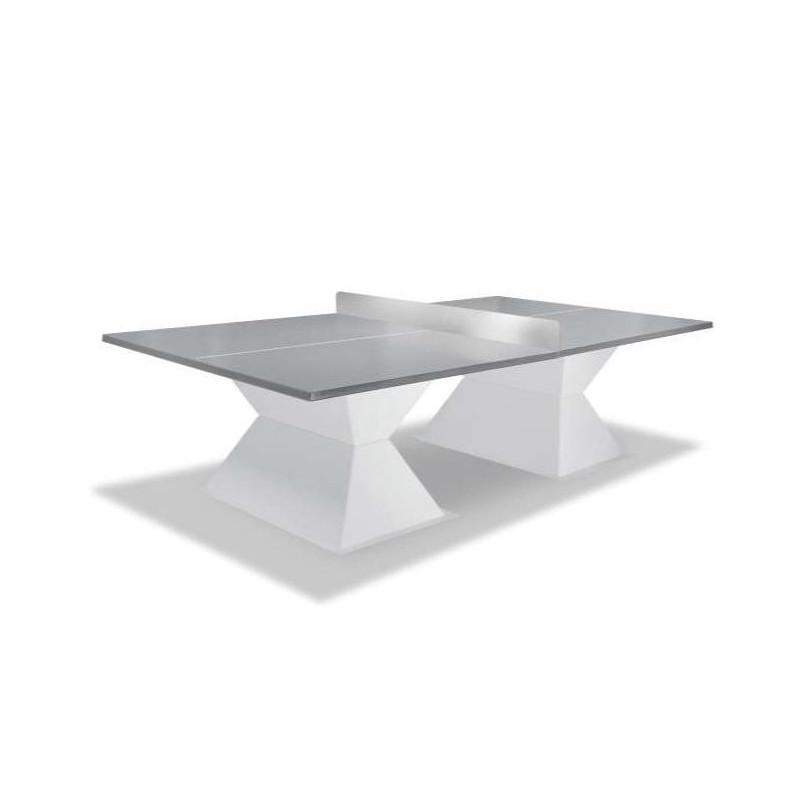 Table de tennis de table Diabolo plateau gris clair
