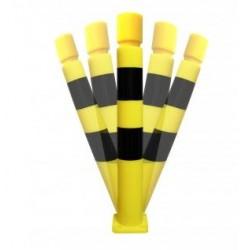 Potelet de protection flexible pour industrie