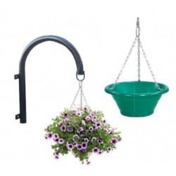 Jardinières sur potences