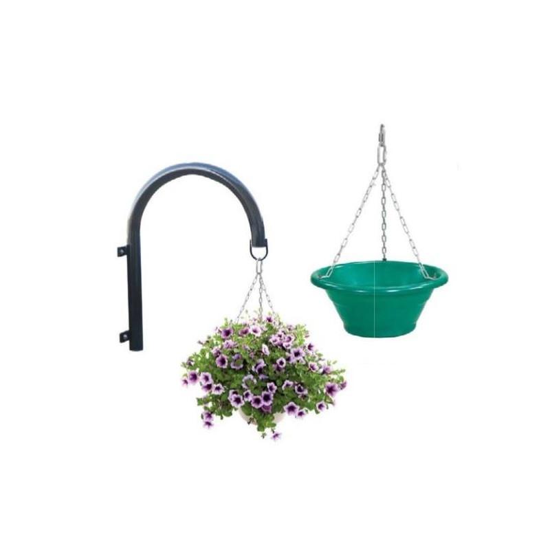 Visuel de la jardinières sur potences