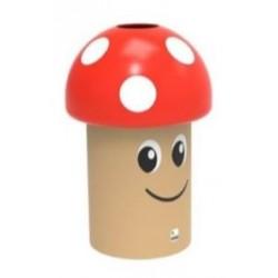 Corbeille ludique champignon en polyéthylène
