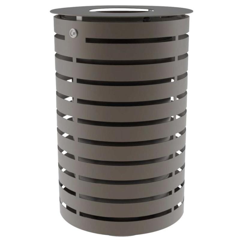 Visuel de la poubelle publique en métal Portalo - DMC Direct
