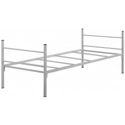 Cadre de lit simple Léo en métal 190 x 90 cm - DMC Direct