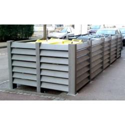 Cache conteneur en recyclé