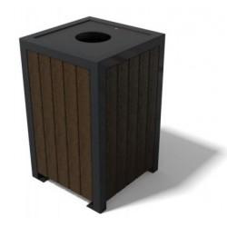 Poubelle urbaine Sam en recyclé