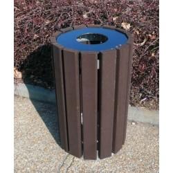 Corbeille de propreté Escapade en recyclé