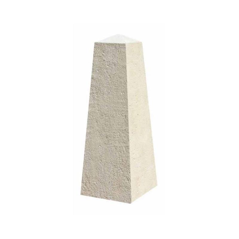 Borne Odalisque Pyramidale en béton