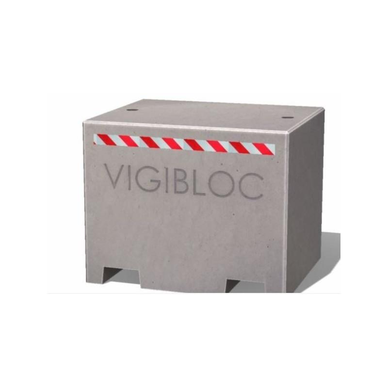 Borne bloc béton vigipirate anti attentat à la voiture bélier - DMC Direct