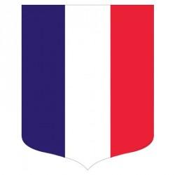 """Porte-drapeaux écusson drapeau français gamme """"Bon Plan"""""""