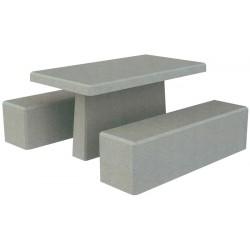 Triton, table de pique-nique en béton armé 1,5 m