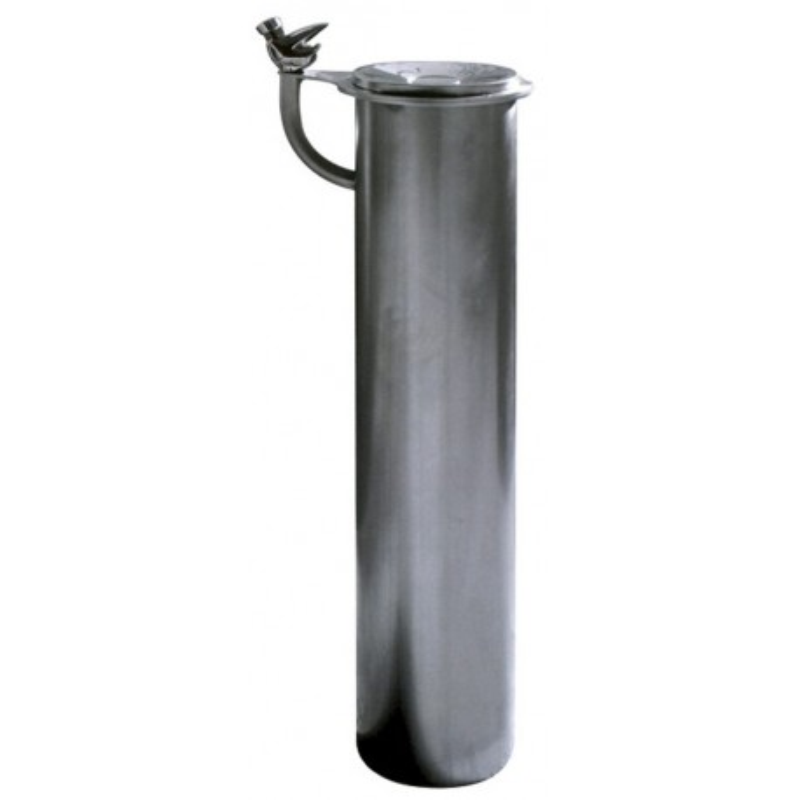 Fontaine Esva, en acier inoxydable a bouton temporisé