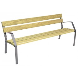 Banc bois de pin traité, collection Modo 180 cm